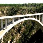 TRAVEL / Zuid Afrika: Bloukrans brug bungeejump