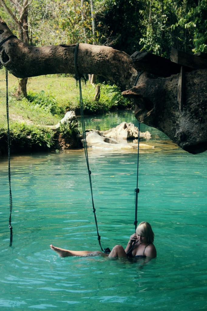 Blue Lagoon Laos Vang Vieng