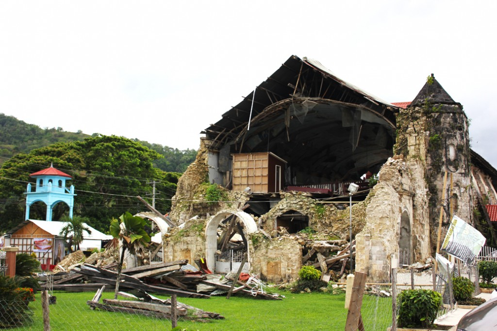 Remains earthquake Bohol