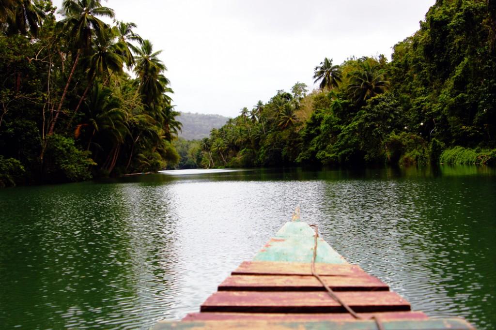 Loboc river Bohol