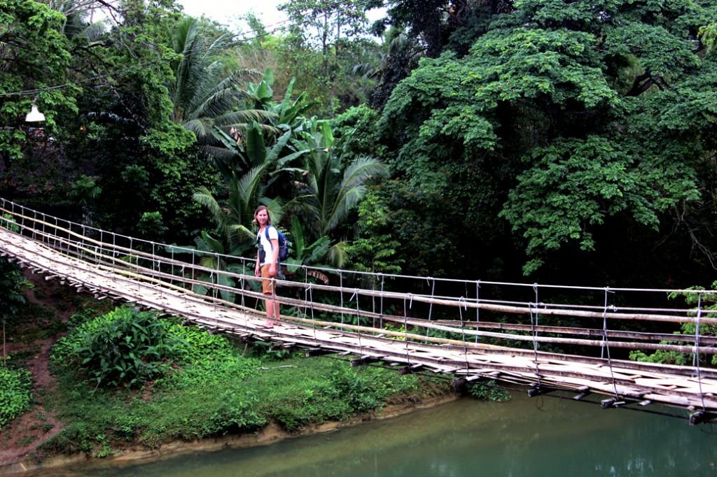Bamboo Bridge Bohol