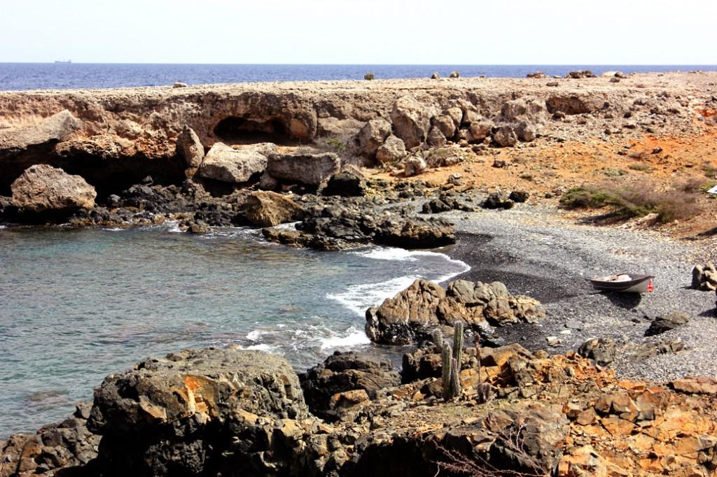 Black beach Aruba