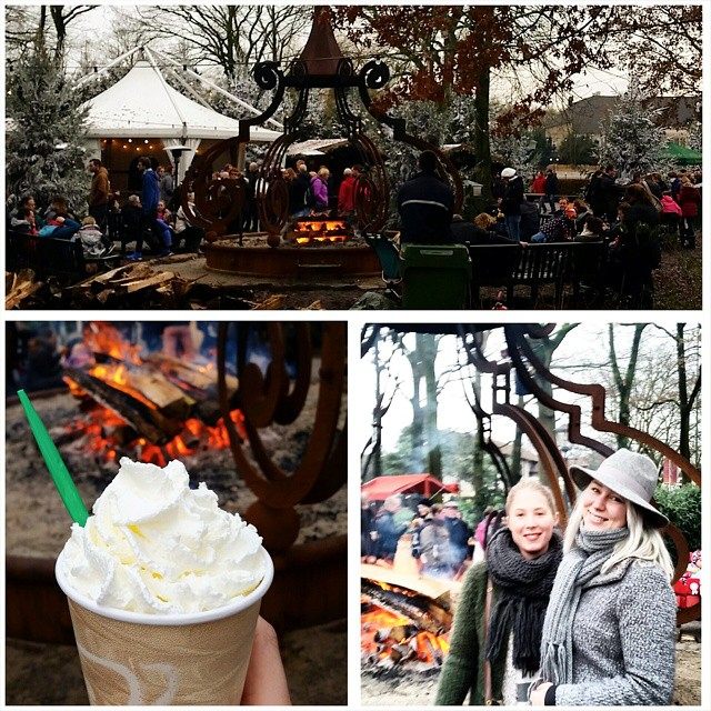 Winter Efteling! ♡ @robertvanwingerden @sharelaine @klaaszonderinstagram  #Efteling #WinterEfteling #winter #pretpark #themepark #hotchocolate #campfire #fire #blogger #lifestyle #travel #holland #fairytale #fun #goodtimes #friends #