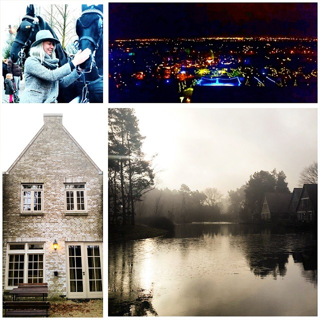 Had a lovely night at Efteling Bosrijk. It feels like sleeping in a medieval little town, pretty. Off to the Droomvlucht now!  #Efteling #WinterEfteling #winter #pretpark #droomvlucht #nature #accommodation #bosrijk #eftelingbosrijk #themepark #morning #sunrise #lake #horses #blogger #lifestyle #travel #holland #fairytale #fun #goodtimes #friends