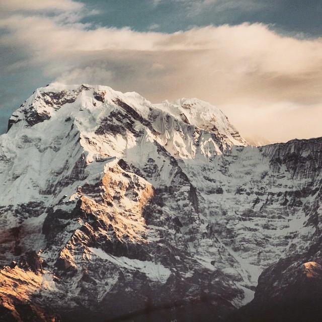 Himalayan sunrise. ❤