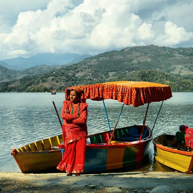 Begnas lake, Nepal.