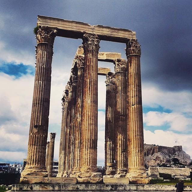 Temple of Zeus, Athens. ?