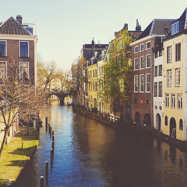 What a lovely day in Utrecht! ?