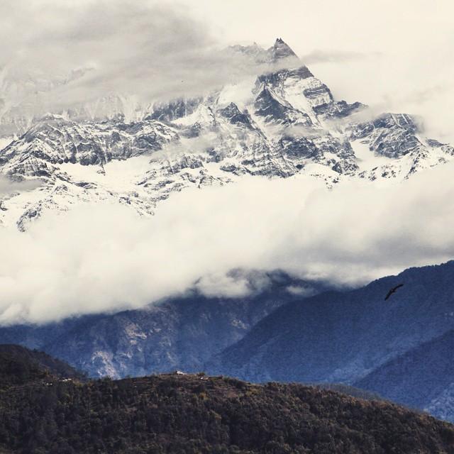 Oh you Himalaya ❤ #Nepal #travel