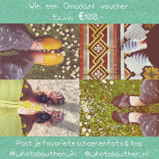 My shoes take me anywhere around the world. Give away for the Dutchies:  Win een @omodashoes voucher t.w.v. €100,-! ? Post je favoriete #fromwhereIstand schoenen en tag #whataboutherwin @whatabouther_nl. ?