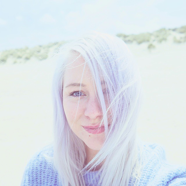 First selfie attempt ever. Enjoyed the beautiful beaches in Zeeland to the fullest! ?