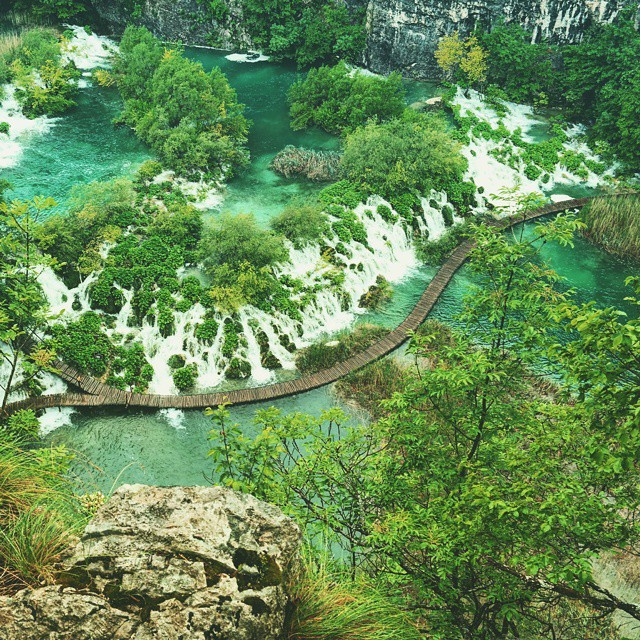 Beautiful. ? #nature #Plitvice #travel