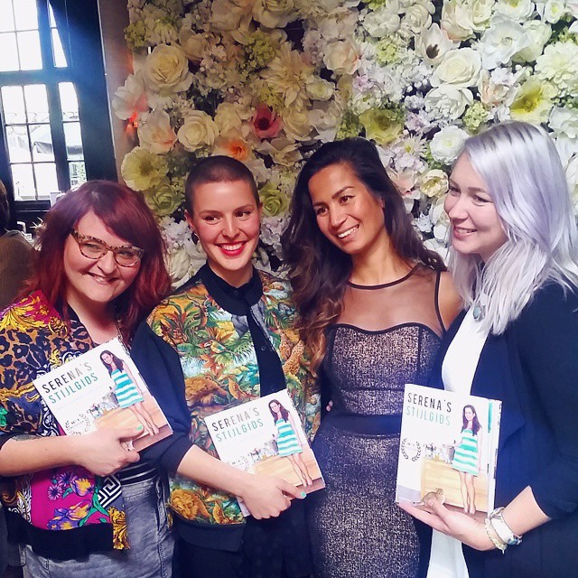 Super proud at the launch of @serenaverbon 's first book. ? You go girl!