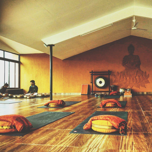 The Purna Yoga Retreat in Pokhara, Nepal. On the blog now.