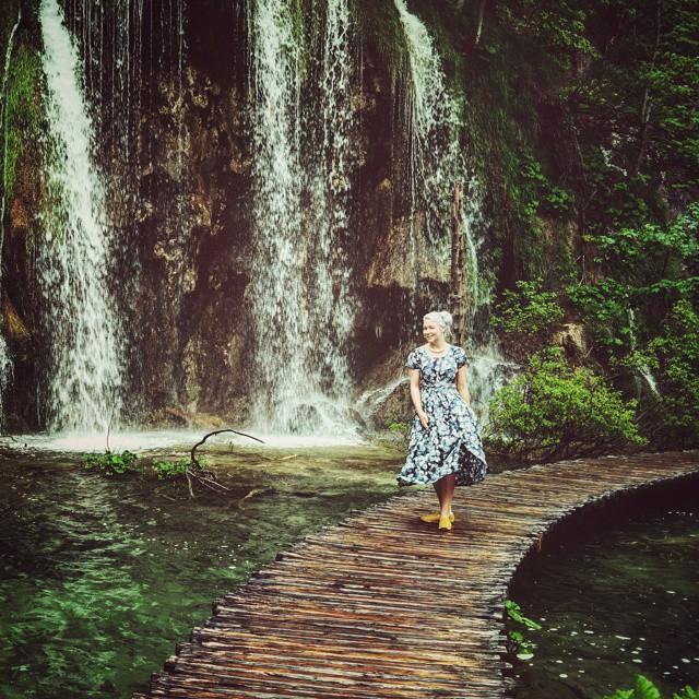 Wandering through art of nature. Even stunning when it rains.  #nature #travel