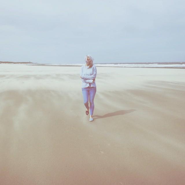 Blown away. #beach #Holland