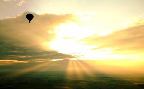 Duitsland donau luchtballon