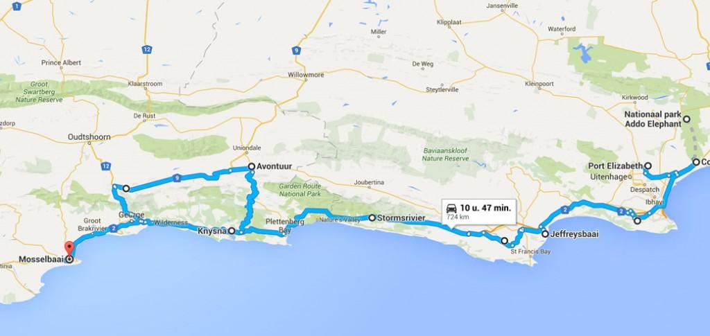 part 1 road trip Zuid-Afrika