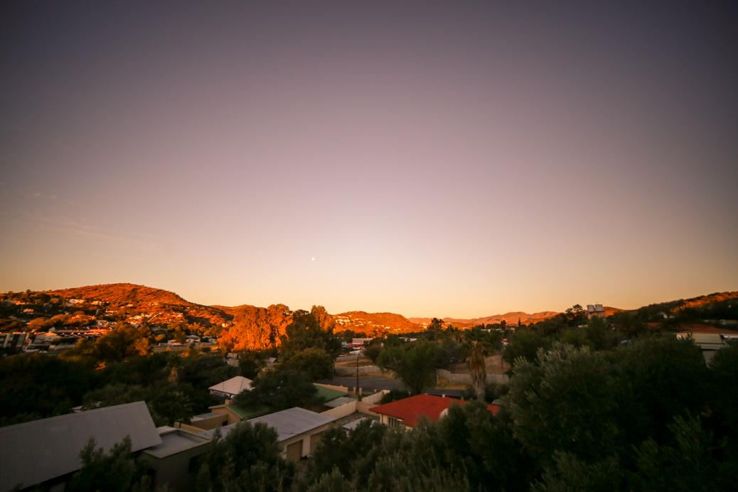 Windhoek uitzicht