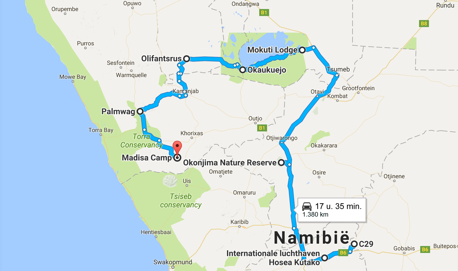 namibie route 1