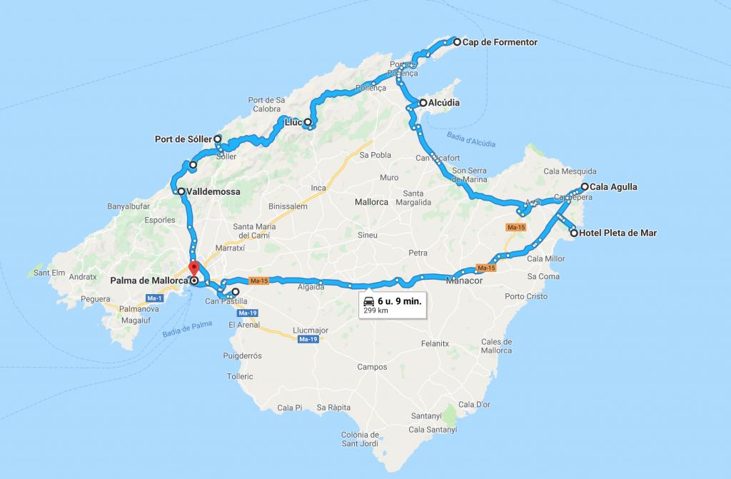 Road trip Mallorca