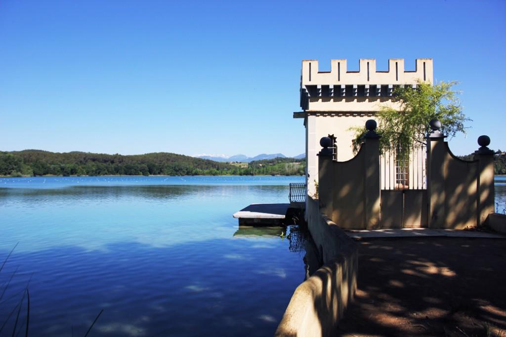 Catalonia lake Banyoles