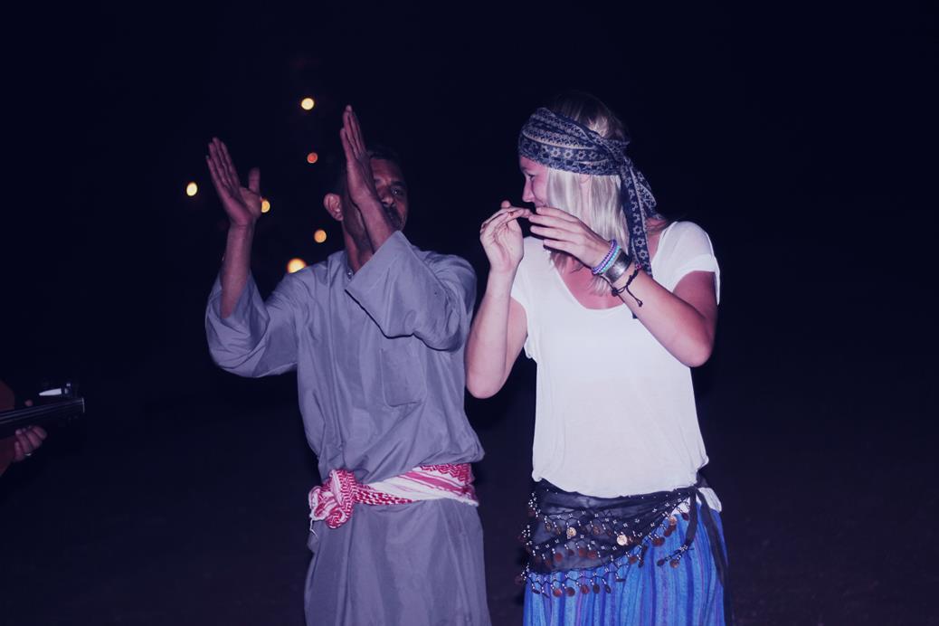 Dansen met Bedouin
