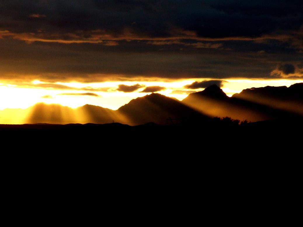 Zonsondergang Zuid Afrika Laura