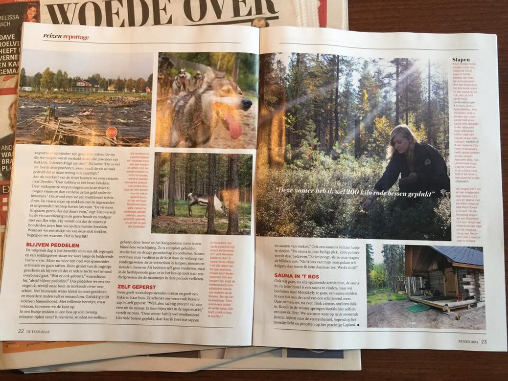 Reizen Magazine Telegraaf