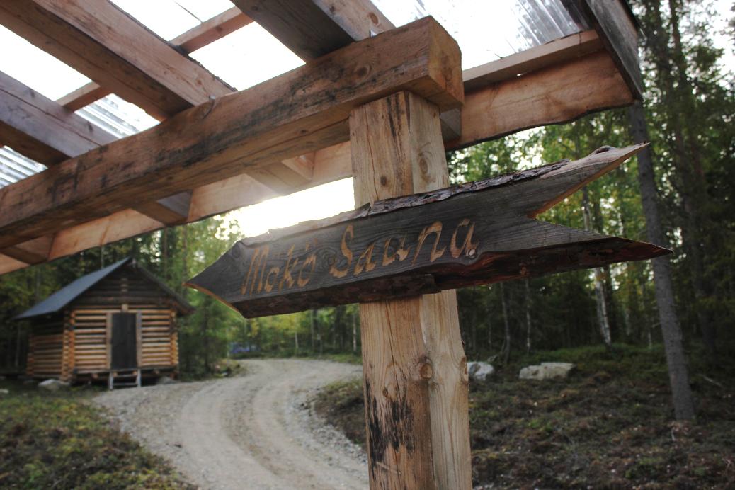 Fins Lapland sauna