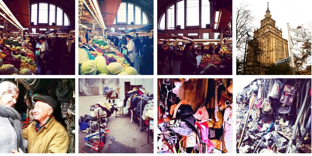 Sovjet flea market Riga