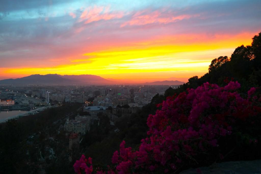 Uitzicht Malaga