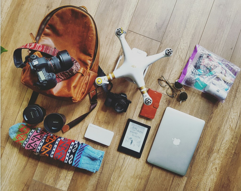 packing list Namibie