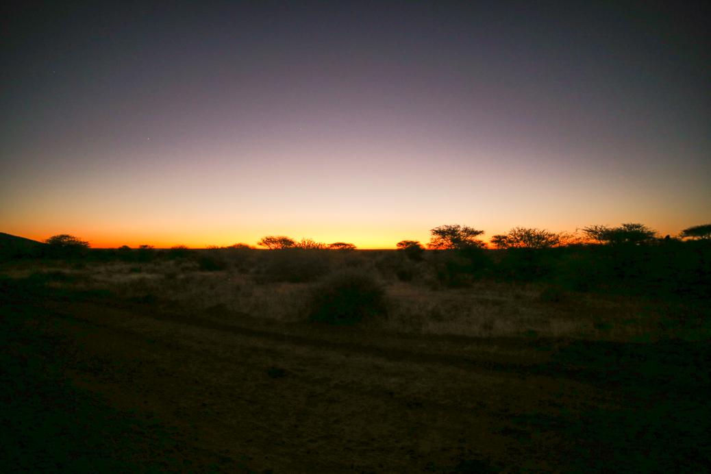 okonjima zonsondergang