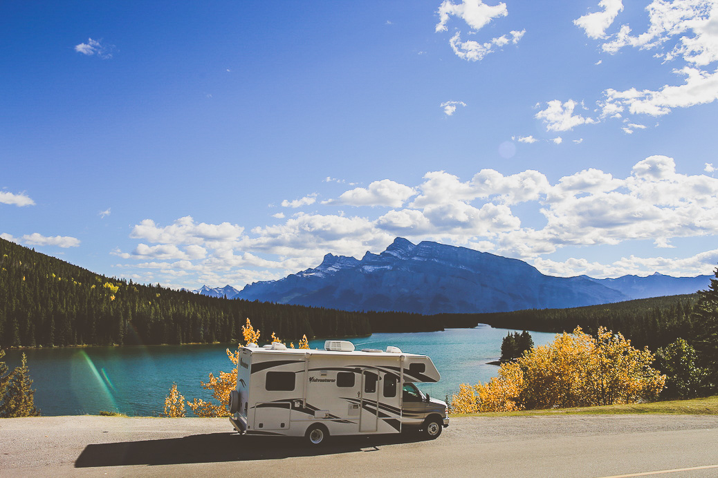 Route Canada Banff Jasper Icefields Parkway Camping