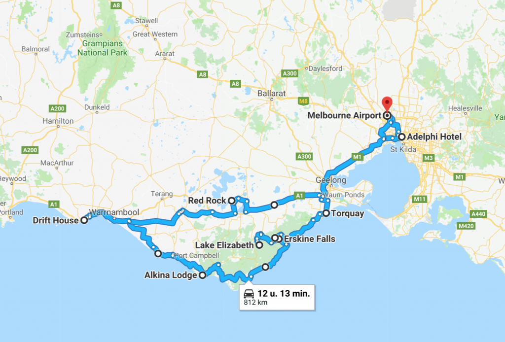 route great ocean road