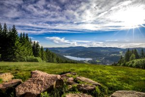 Titisee from Hochfirst